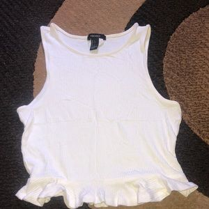 White blouse from F21